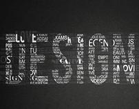 Designers : Typographic Poster