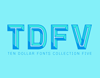 TDF Typeface Collection: V