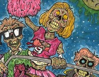 Zombie Collaboration Painting
