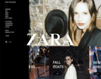 ZARA Web Redesign