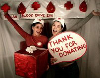 Red Cross Photo Shoot