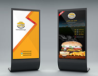 Advertising posters for restaurant 22