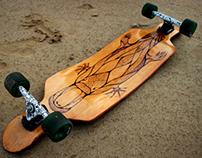 MONOTREME | Handmade Custom Longboard