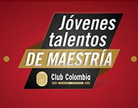 Jóvenes talento de maestría Club Colombia