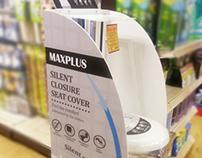 Maxplus // Toilet Seat Cover