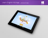 Learn english Kids App