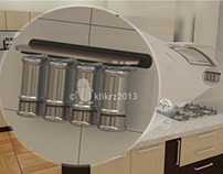 3d Spice Rack Design