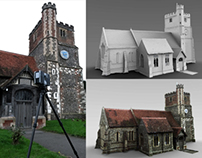 LIDAR 3D Scanning - St Michael's Church, Horton