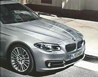 BMW 5 Series brochure (Arabisation & copywriting)