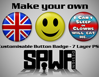Customisable Button Badge