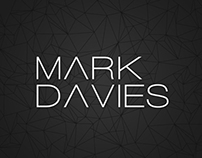 MARK DAVIES. Identity and packaging