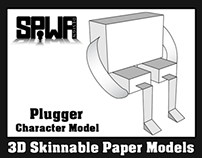 Plugger Promotional Paper Model