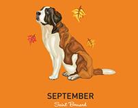 Dog Breeds Calendar