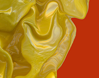 Yellow plastic