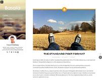 Basata WordPress Theme