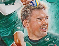 Sports Art - Toby Flood