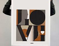 L.O.V.E - Art Print