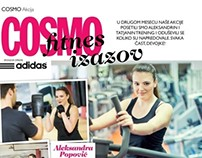 COSMO Fitness challenge 2013