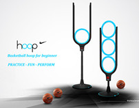 Basketball hoop for nike