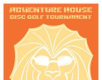 adventure house disc golf