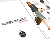 The woman in coach | Illustration
