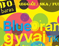 Music event poster, BO
