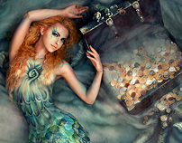 "art-photo project by mythical creatures - ""SIREN"""