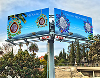 Kimberly McDonald Billboard on Sunset Boulevard