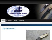 White Handmade Knives