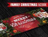 Family Christmas 2 | Facebook Cover