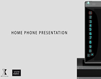 Home Phone ( ESD Madrid Concept Project )