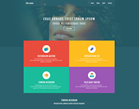 Free psd template  From www.alltemplateneeds.com
