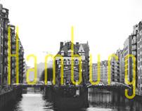 Hamburg in black and white