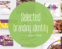 Selected Brand Identity - immagine coordinata