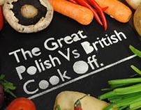 The Great Polish Vs British Cook Off (Cook Book)