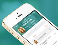 MedicineOne iOS7 app