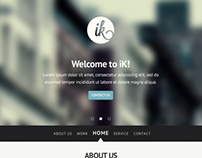 IK - Multi Purpose PSD Template (Freebie)