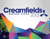 Banners Creamfields 2013 BsAs / Clarin