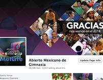 Abierto Mexicano de Gimnasia 2013 y 2014