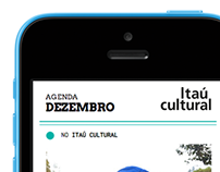 MOBILE SITE _ itaú cultural by SERIFARIA