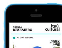 Programação Cultural [ MOBILE SITE - Itaú Cultural ]