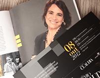 Convite + Programação + Book Prêmio Claudia 2012