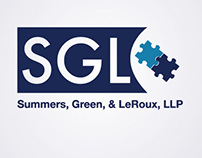 Logo design for Summers, Green, & LeRoux, LLP