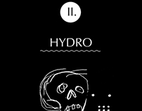 HYDROCHLORIC #2 - SKULLS