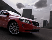 Volvo XC60 Lighting - Rendering