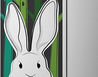 V for the rabbit