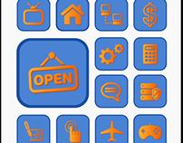 Icon Design for Mobile App UI
