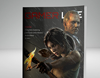 Gamer Life Magazine (magazine layout)