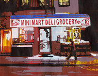 Mini Mart Deli Grocery