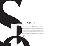 Optima Typography
